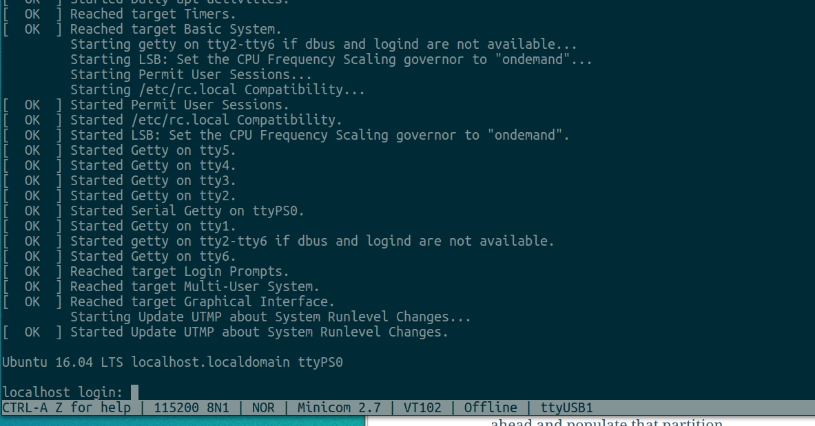 Creating A Ubuntu Xenial 16 04 rootfs for Zybo and Zynq